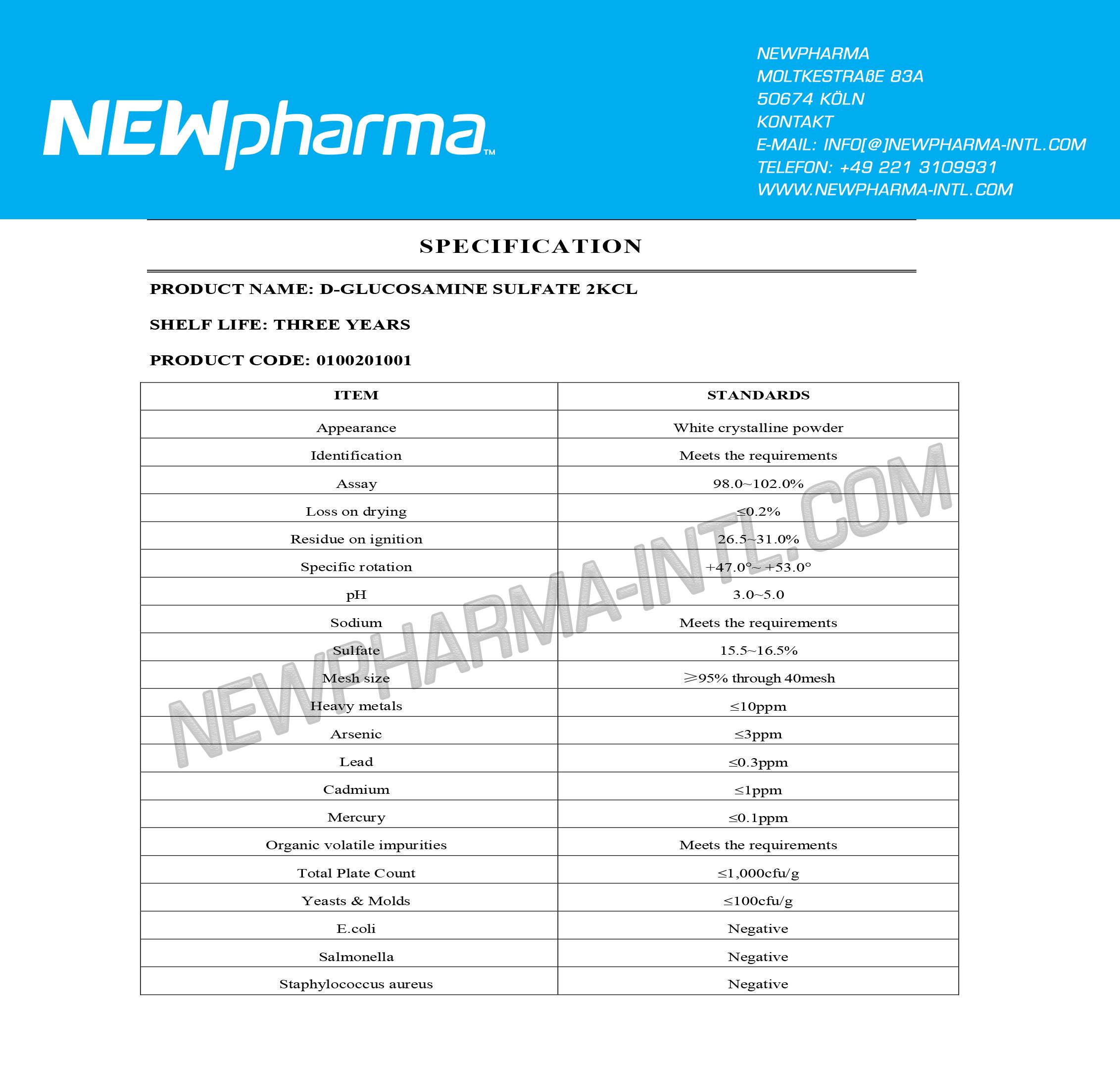 NEWPHARMA-GLUCOSAMINE-Su-1