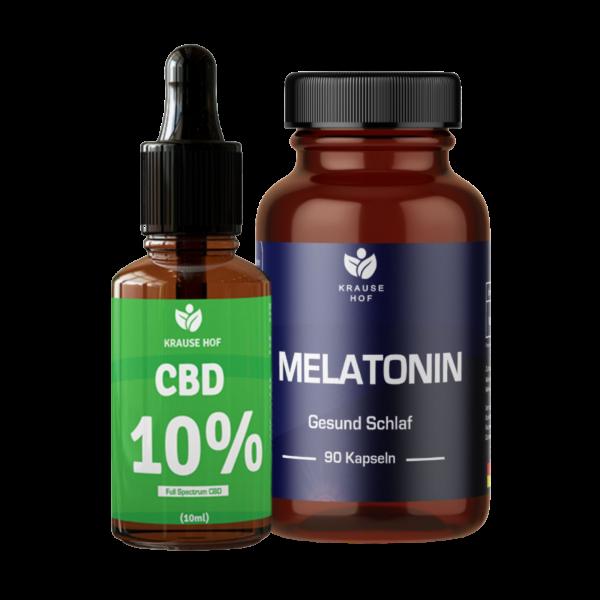 Melatonin + CBD Aroma-Öl